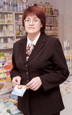 Лариса Никитина, директор департамента аптечных учреждений