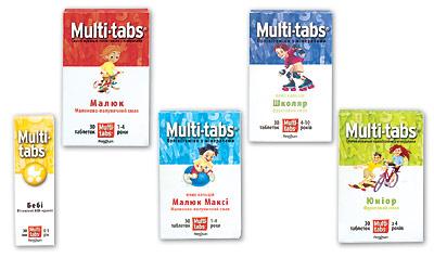 МУЛЬТИ-ТАБС® — умные витамины для умных детей!