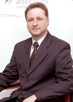 Олег Крылов, глава представительства компании «Астеллас Фарма Юроп Б.В.» вУкраине