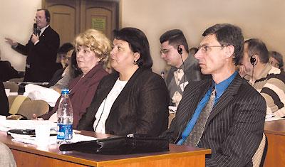 Большинство слушательской аудитории составили украинские специалисты
