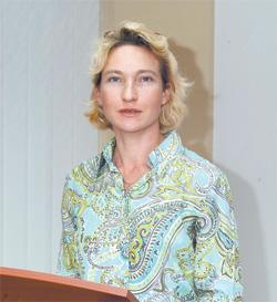 Вера Павлова, директор логистического центра ХФК «Биокон»