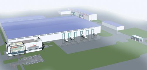 Проект нового логистического центра