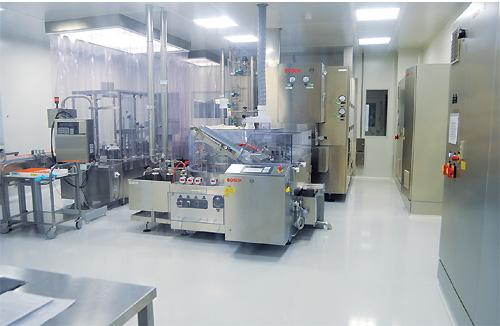 Ділянка з виробництва високотехнологічного інсуліну, обладнана спільно зі спеціалістами компанії «Ely Lilly» (США), працює вже не перший рік