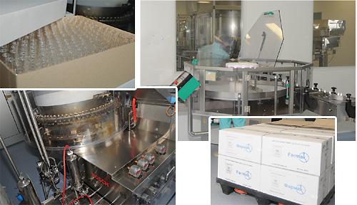 З метою мінімізації контакту з навколишнім середовищем, передова виробнича ділянка ВАТ «Фармак» розташована у спеціально захищеному боксі. Препарат МАГНЕГІТА® розроблено у лабораторії ВАТ «Фармак» та впроваджено у виробництво напотужностях цього заводу, які у квітні 2007 р. пройшли сертифікаційний аудит інспекторату GMP Німеччини