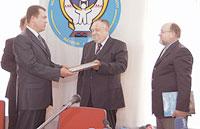 Урочисте вручення сертифікатів