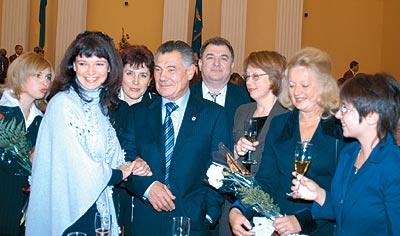 Вітання столичних фармацевтів у Київській мерії