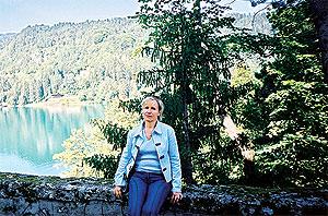 Прекрасный уголок Словении - озеро Блед: Нонна Тимофеева (директор ООО«Фармасол», г. Киев).