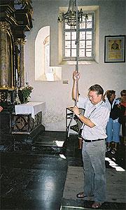 Колокол желания встаринной часовне: Валерий Веремчук.