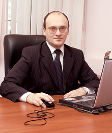 Владимир Агошков, глава представительства