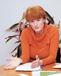 Галина Антощук, начальник отдела технологий