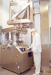 Таблеточный пресс смаксимальной производительностью 250 тыс. таблеток вчас!