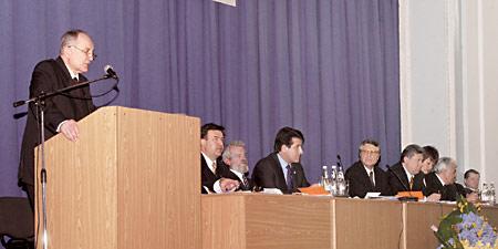 Шляхи реформування вітчизняної системи охорони здоров'я — тема доповіді міністра охорони здоров'я України Миколи Поліщука