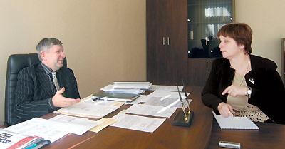 Встреча Виктора Рыбчука иНины Саутенковой вМинистерстве здравоохранения Украины. Входе конструктивного диалога стороны нашли взаимопонимание повсем принципиально важным направлениям