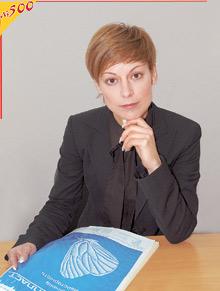 Наталья Продан, председатель ревизионной комиссии ОАО«Гемопласт»