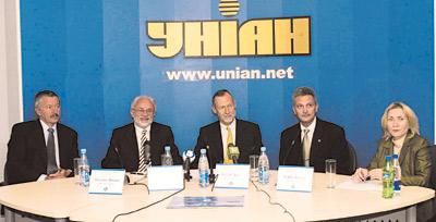 Входе пресс-конференции руководства компании «Рихтер Гедеон Рт.» вагентстве УНИАН 19 сентября 2005 г.