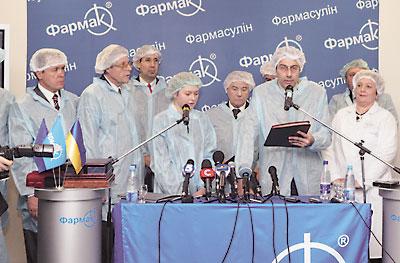 Під час прес-конференції: привітання Яноша Палака