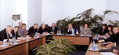 Заседание организации работодателей