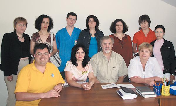 Участники одесского семинара поДианализу®; впервом ряду вцентре — Владимир Завьялов