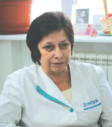 Татьяна Котенко, заведующая аптекой «Альбина», Киев.
