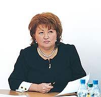народный депутат, член парламентской фракции Партии регионов Татьяна Бахтеева