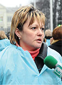 глава Николаевского союза фармацевтов Елена Прудникова