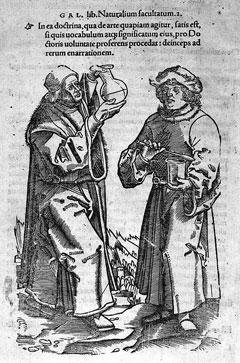 Иллюстрация из книги: Hieronymus Brunschwig «Dis ist das Buch der Cirurgie», Strasbourg, 1497