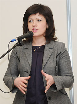 Надежда Численко, генеральный директор компании «Виталюкс», Киев (победитель конкурса «Панацея–2008» вноминации «Аптечная сеть года»)