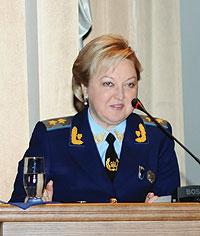 Заступник Генерального Прокурора України Тетяна Корнякова