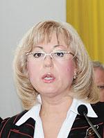 Олена Адамович, голова представництва Держкомпідприємництва у Полтавській області
