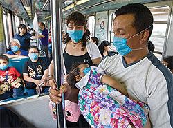 ВСША объявлено чрезвычайное положение всвязи сосвиным гриппом