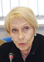 Валерія Лехан, завідуюча кафедрою соціальної медицини, організації та управління охороною здоров'я Дніпропетровської державної медичної академії