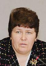 Лариса Полікова, головний лікар Близнюківської центральної районної лікарні Харківської обл.