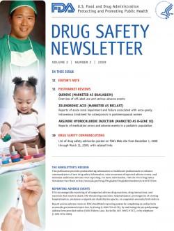 FDA: есть у AERS начало, нет у AERS конца
