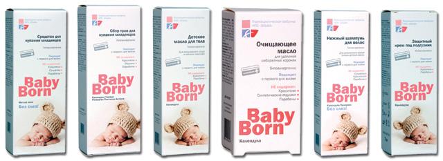 Фармацевты — детям:компания «Эльфа» представляет детскую косметику BabyBorn™