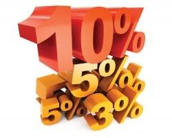 Регулюється гранична націнка.10% раз... 10% два... 10% три… Хто менше?