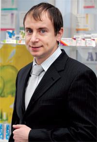 Юрій Маркевич , керівник відділу маркетингу безрецептурних препаратів
