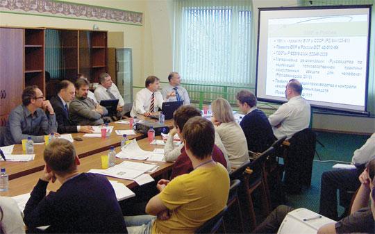 Специалисты НФаУ делятся опытом повнедрению стандартов GMP