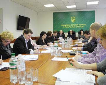 Питання щодо передліцензійних перевірок обговорено вДержлікслужбі України