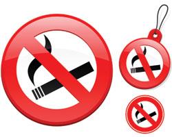 За отсутствие специально отведенных для курения мест санкции налагаться не могут