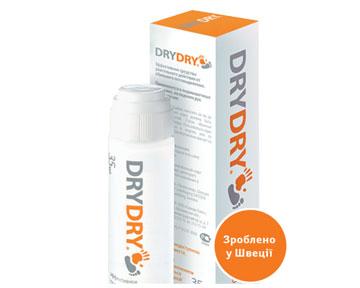 Потливость ног DryDry