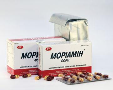 МОРИАМИН ® ФОРТЕ: японская формула здоровья теперь ивУкраине