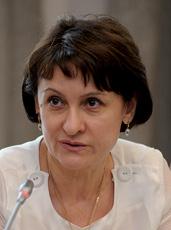 Валентина Залеська, перший заступник начальника Головного управління охорони здоров'я Київської міської державної адміністрації