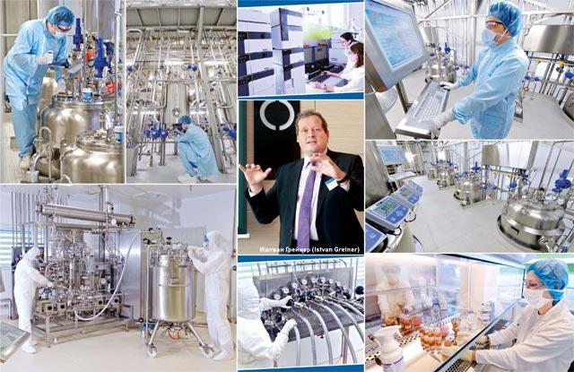 Серийный выпуск первых биотехнологических препаратов, предназначенных для маркетинга, планируется здесь начать в2014г.: это будут антитела для лечения онкологических ихронических воспалительных заболеваний