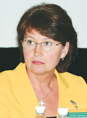 Світлана Пасталиця, президент Чернігівської асоціації фармацевтичних працівників, кандидат фармацевтичних наук