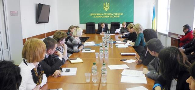 Руководство Гослекслужбы Украины провело встречу симпортерами (обновлено)