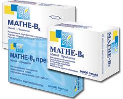 МАГНЕ-В6 — найпопулярніший магнієвмісний препарат серед лікарів України