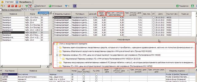 информацию, касающуюся зарегистрированных играничных оптово-отпускных цен производителя пользователи программного продукта «Фармзаказ АПТЕКА» могут получить спомощью программы «Фармзаказ АПТЕКА»