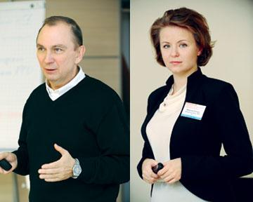 Сергей Орлик, бизнес-тренер, эксперт фармацевтического рынка. Евгения Ярмолюк, старший юрист юридической фирмы «ОМП»