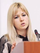 Ірини Вороніної, наукового співробітника Інституту правового забезпечення інноваційного розвитку Національної академії правових наук України