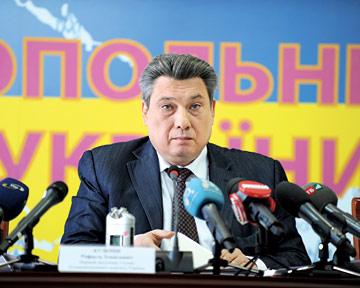 брифинг первого заместителя председателя Антимонопольного комитета Украины (АМКУ) Рафаэля Кузьмина